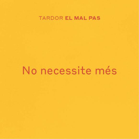 No necessite més